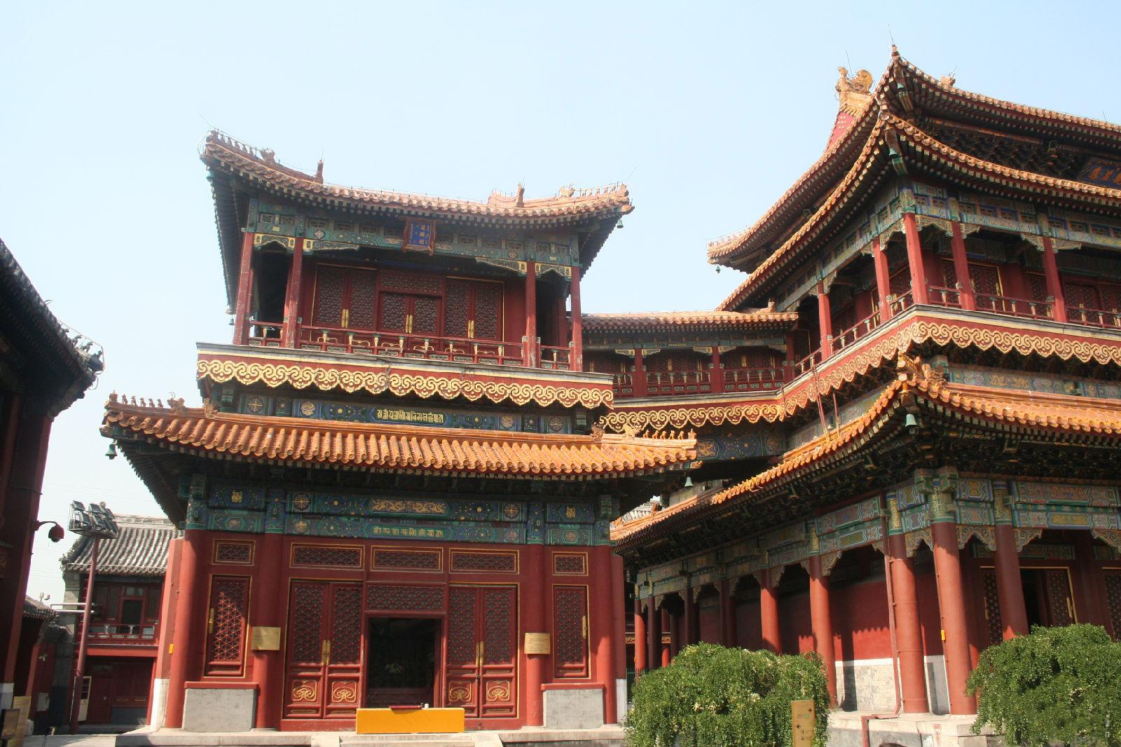 雍和宫大佛图片